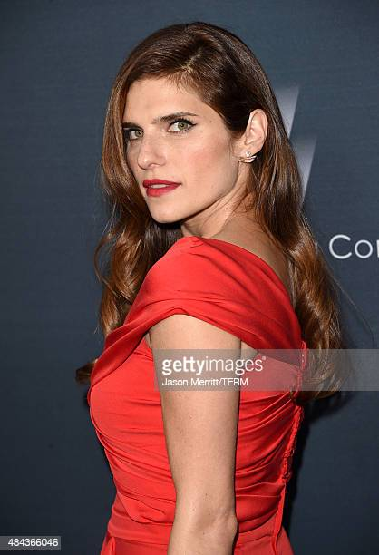 Actress Lake Bell attends the premiere of the Weinstein Company's 'No Escape' at Regal Cinemas LA Live on August 17 2015 in Los Angeles California