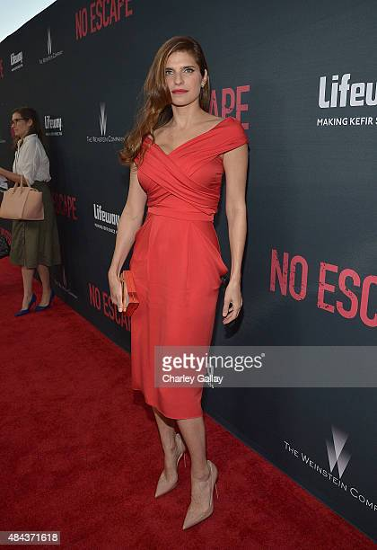 Actress Lake Bell attends the premiere of the Weinstein Company's 'No Escape' in Partnership With Lifeway Foods in Partnership With Lifeway Foods at...