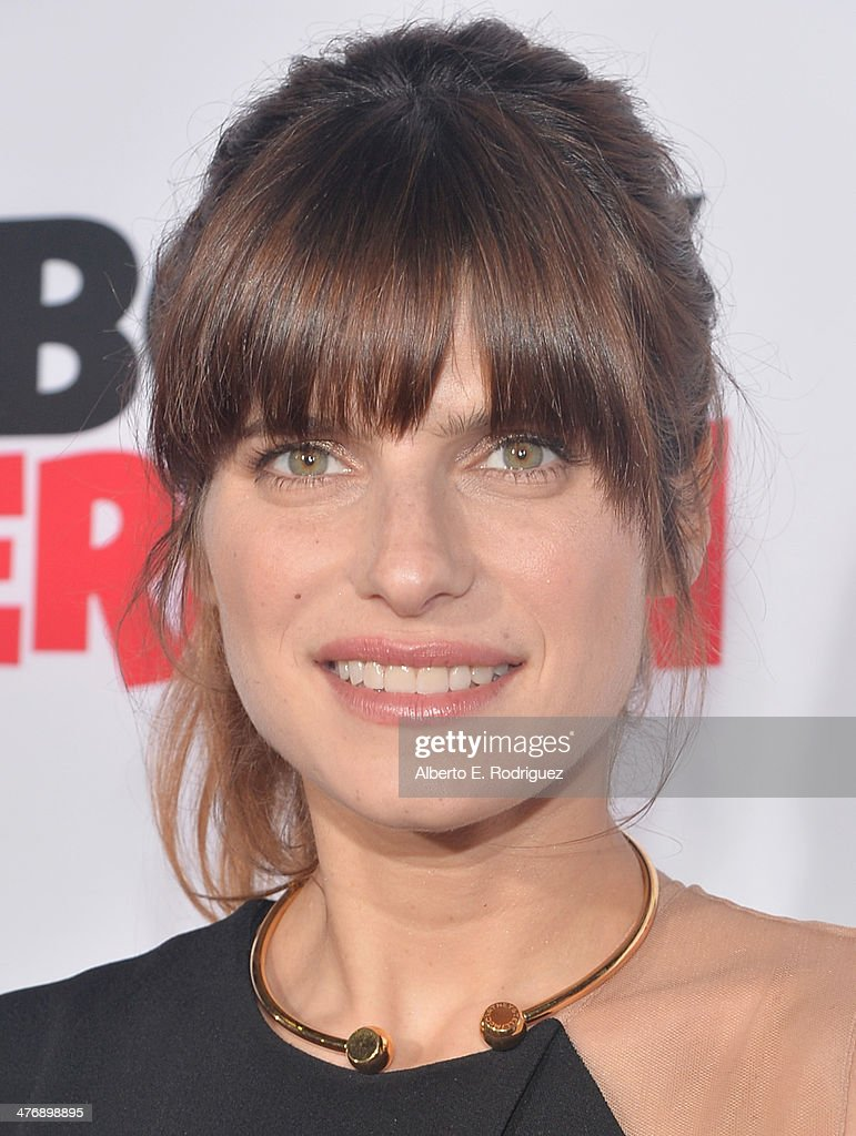 Actress Lake Bell attends the premiere of Twentieth Century Fox and DreamWorks Animation's 'Mr Peabody Sherman' at Regency Village Theatre on March 5...