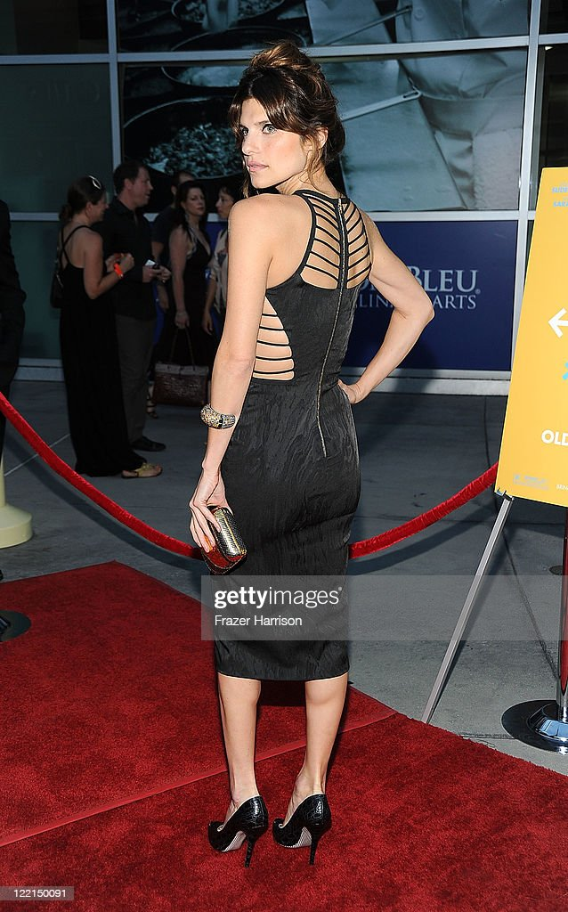 Actress Lake Bell attends the screening of Samuel Goldwyn Films' 'A Good Old Fashioned Orgy' at Arclight Cinemas on August 25 2011 in Los Angeles...