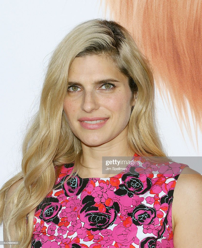 Actress Lake Bell attends the 'Secret Life Of Pets' New York premiere on June 25, 2016 in New York City.