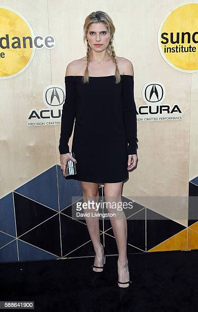 Actress Lake Bell attends the Sundance Institute NIGHT BEFORE NEXT event at The Theatre at The Ace Hotel on August 11 2016 in Los Angeles California