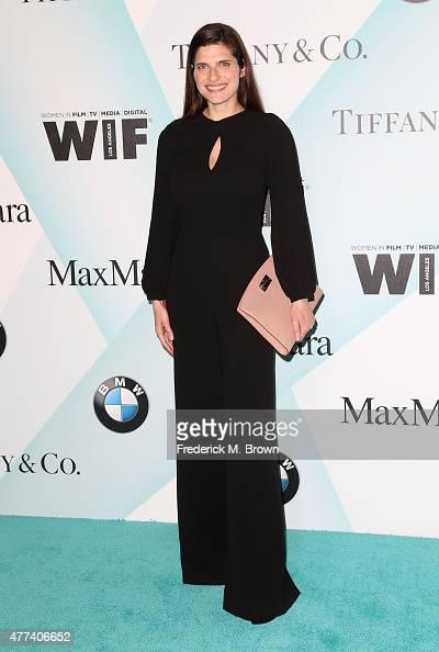 Actress Lake Bell attends the Women in Film 2015 Crystal Lucy Awards at the Hyatt Regency Century Plaza Hotel on June 16 2015 in Los Angeles...