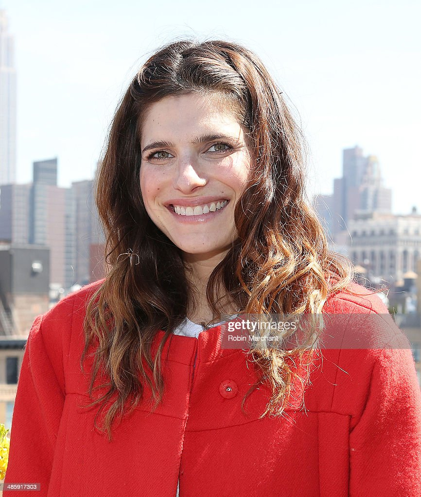 Actress Lake Bell attends Women's Film Brunch at Company 3 on April 21, 2014 in New York City.