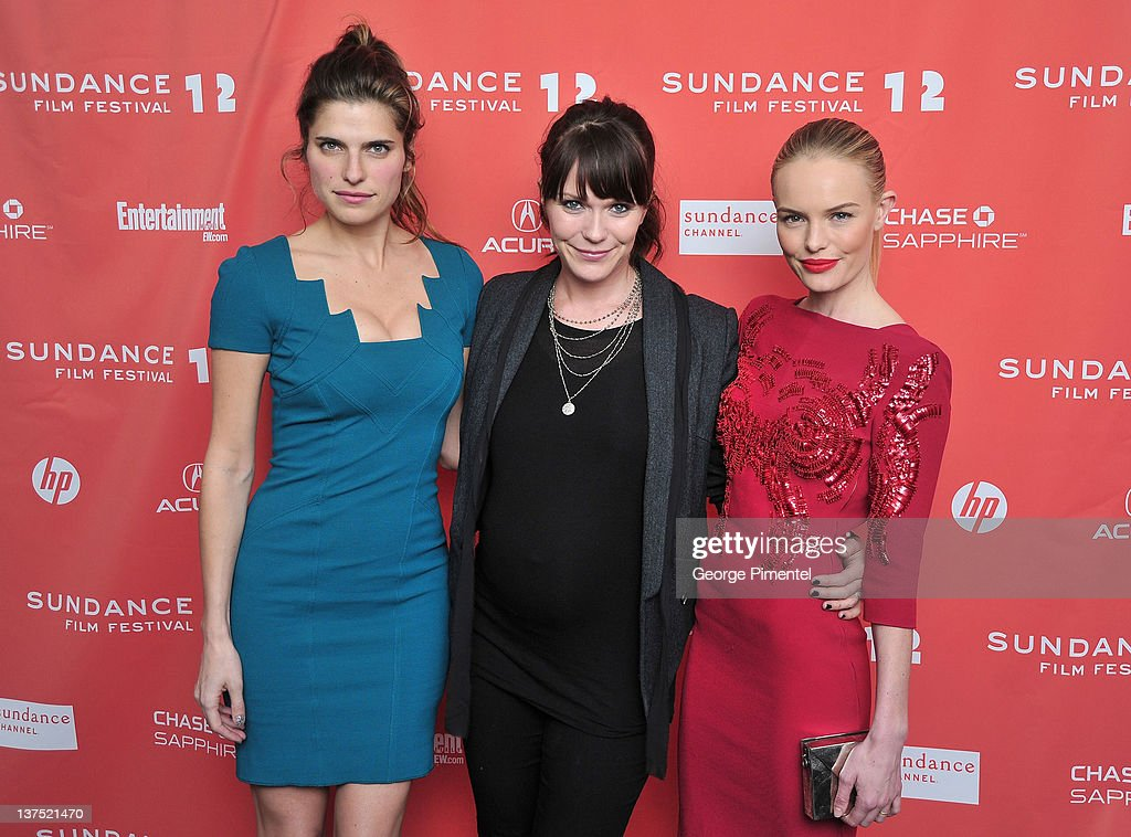 Actress <a gi-track='captionPersonalityLinkClicked' href=/galleries/search?phrase=Lake+Bell&family=editorial&specificpeople=209336 ng-click='$event.stopPropagation()'>Lake Bell</a>, director <a gi-track='captionPersonalityLinkClicked' href=/galleries/search?phrase=Katie+Aselton&family=editorial&specificpeople=6457083 ng-click='$event.stopPropagation()'>Katie Aselton</a> and actress <a gi-track='captionPersonalityLinkClicked' href=/galleries/search?phrase=Kate+Bosworth&family=editorial&specificpeople=201616 ng-click='$event.stopPropagation()'>Kate Bosworth</a> arrive at the 'Black Rock' Premiere during the 2012 Sundance Film Festival at Library Center Theater on January 21, 2012 in Park City, Utah.