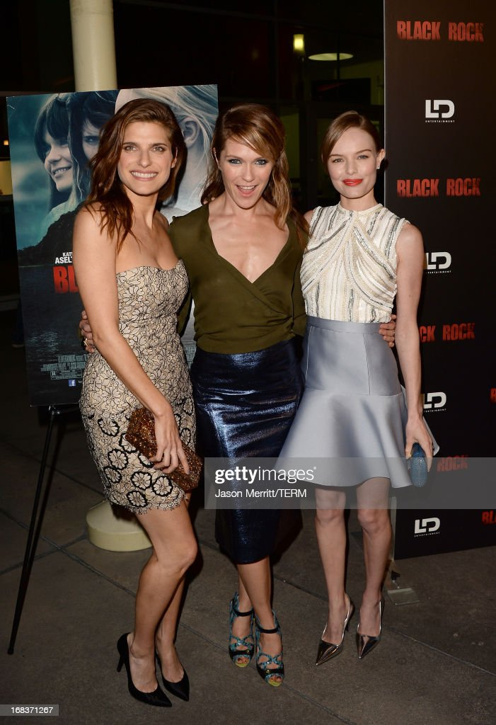 Actress <a gi-track='captionPersonalityLinkClicked' href=/galleries/search?phrase=Lake+Bell&family=editorial&specificpeople=209336 ng-click='$event.stopPropagation()'>Lake Bell</a>, director/producer <a gi-track='captionPersonalityLinkClicked' href=/galleries/search?phrase=Katie+Aselton&family=editorial&specificpeople=6457083 ng-click='$event.stopPropagation()'>Katie Aselton</a>, and actress <a gi-track='captionPersonalityLinkClicked' href=/galleries/search?phrase=Kate+Bosworth&family=editorial&specificpeople=201616 ng-click='$event.stopPropagation()'>Kate Bosworth</a> attend the screening of LD Entertainment's 'Black Rock' at ArcLight Hollywood on May 8, 2013 in Hollywood, California.