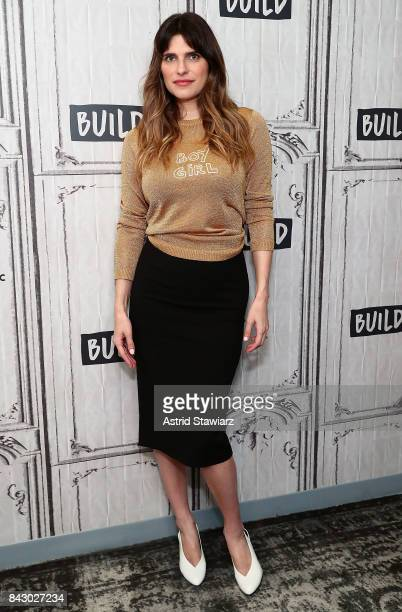 Actress Lake Bell discusses her film 'I DoUntil I Don't' at Build Studio on September 5 2017 in New York City