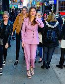Celebrity Sightings In New York City - April 16, 2019