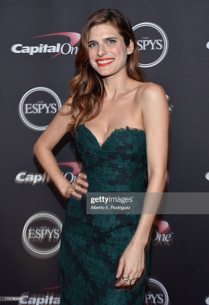Actress Lake Bell poses backstage at The 2013 ESPY Awards at Nokia Theatre L.A. Live on July 17, 2013 in Los Angeles, California.