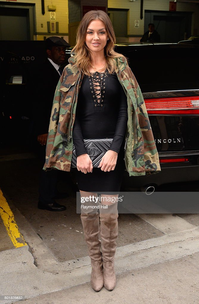 Actress Lala Kent is seen outside 'Huff Post Live' on December 14 2015 in New York City