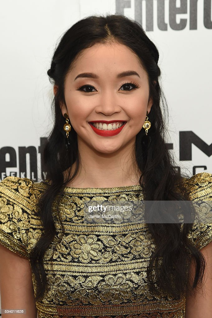 Actress Lana Condor attends the 'X-Men Apocalypse' New York screening at Entertainment Weekly on May 24, 2016 in New York City.
