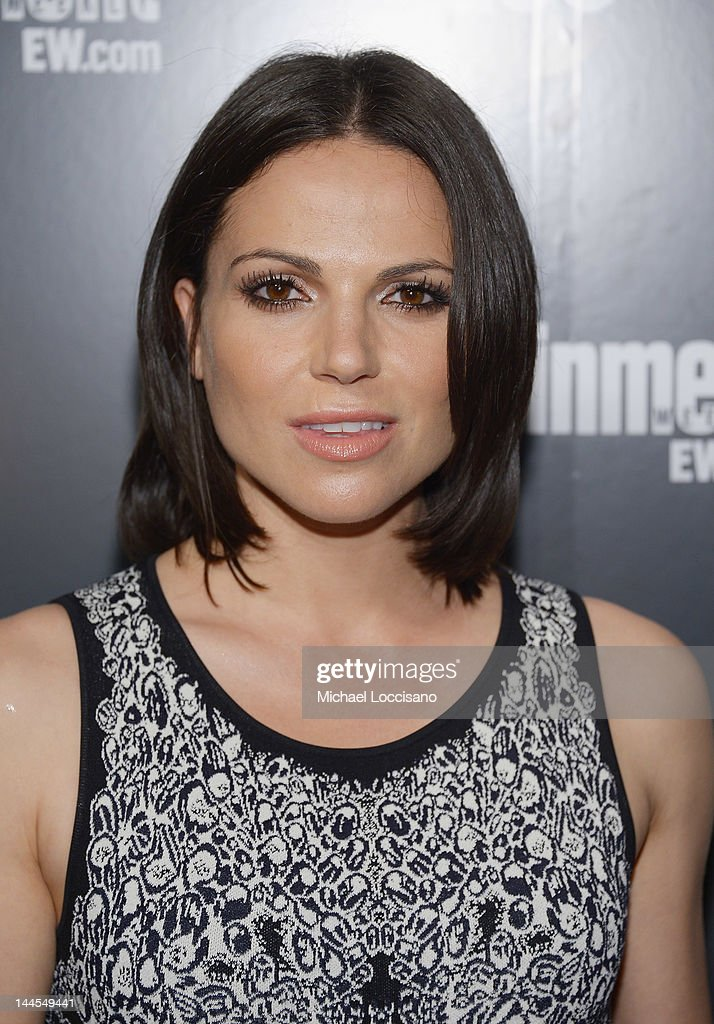 Actress Lana Parilla attends the Entertainment Weekly & ABC-TV Up Front VIP Party at Dream Downtown on May 15, 2012 in New York City.