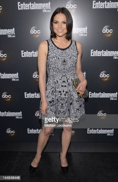 Actress Lana Parilla attends the Entertainment Weekly ABCTV Up Front VIP Party at Dream Downtown on May 15 2012 in New York City