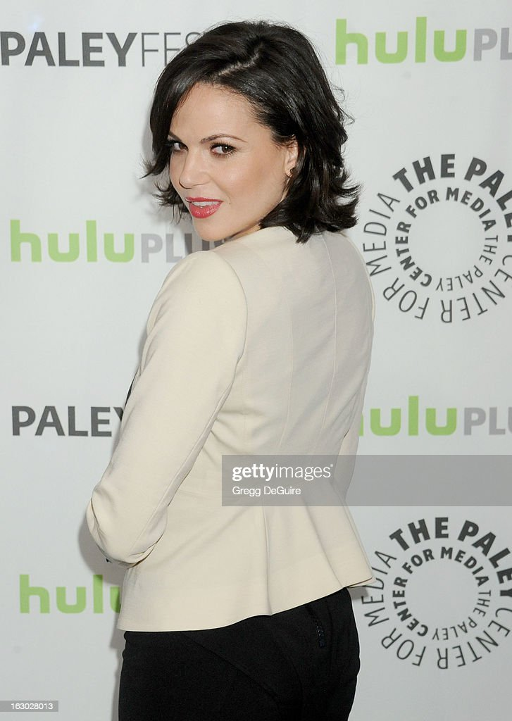 Actress Lana Parrilla arrives at the 30th Annual PaleyFest: The William S. Paley Television Festival featuring 'Once Upon A Time' at Saban Theatre on March 3, 2013 in Beverly Hills, California.