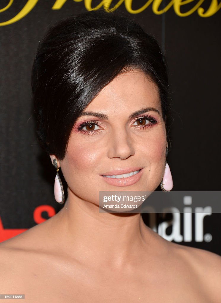 Actress <a gi-track='captionPersonalityLinkClicked' href=/galleries/search?phrase=Lana+Parrilla&family=editorial&specificpeople=2303014 ng-click='$event.stopPropagation()'>Lana Parrilla</a> arrives at the 38th Annual Gracie Awards Gala at The Beverly Hilton Hotel on May 21, 2013 in Beverly Hills, California.
