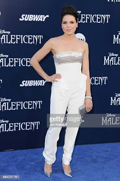 Actress Lana Parrilla arrives at the Los Angeles Premiere 'Maleficent' at the El Capitan Theatre on May 28 2014 in Hollywood California
