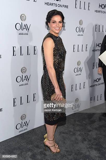 Actress Lana Parrilla attends ELLE's 6th Annual Women In Television Dinner at Sunset Tower Hotel on January 20 2016 in West Hollywood California