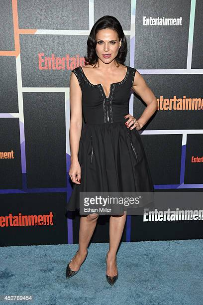 Actress Lana Parrilla attends Entertainment Weekly's annual ComicCon celebration at Float at Hard Rock Hotel San Diego on July 26 2014 in San Diego...