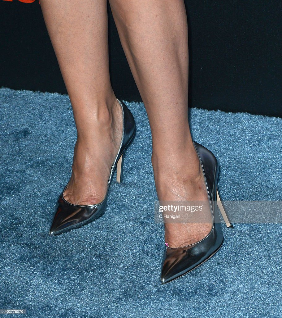 Actress Lana Parrilla (Shoe Detail) attends Entertainment Weekly's annual Comic-Con celebration at Float at Hard Rock Hotel San Diego on July 26, 2014 in San Diego, California.