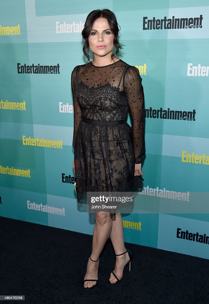 Actress Lana Parrilla attends Entertainment Weekly's ComicCon 2015 Party sponsored by HBO Honda Bud Light Lime and Bud Light Ritas at FLOAT at The...