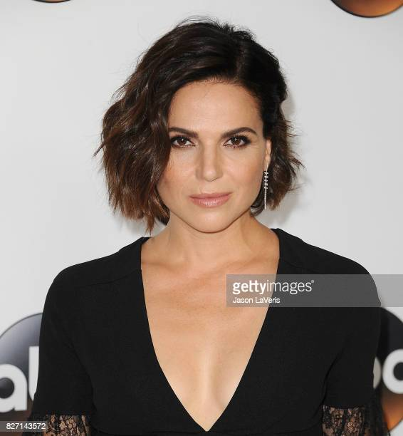 Actress Lana Parrilla attends the Disney ABC Television Group TCA summer press tour at The Beverly Hilton Hotel on August 6 2017 in Beverly Hills...