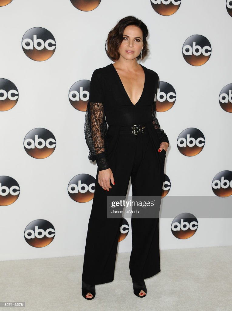 Actress Lana Parrilla attends the Disney ABC Television Group TCA summer press tour at The Beverly Hilton Hotel on August 6, 2017 in Beverly Hills, California.