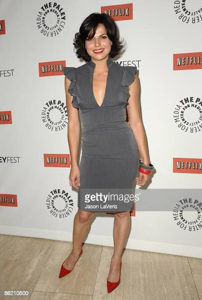 Actress Lana Parrilla attends the PaleyFest09 event for 'Swingtown' at The Paley Center for Media on April 24 2009 in Beverly Hills California