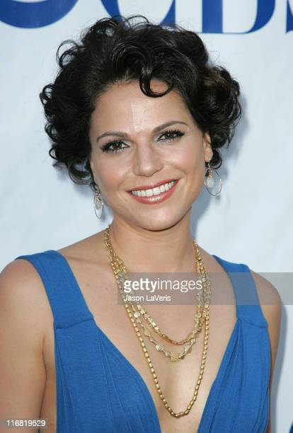 Actress Lana Parrilla attends the 'Swingtown' Premiere Summer Block Party at CBS Studio Center on May 20 2008 in Studio City California