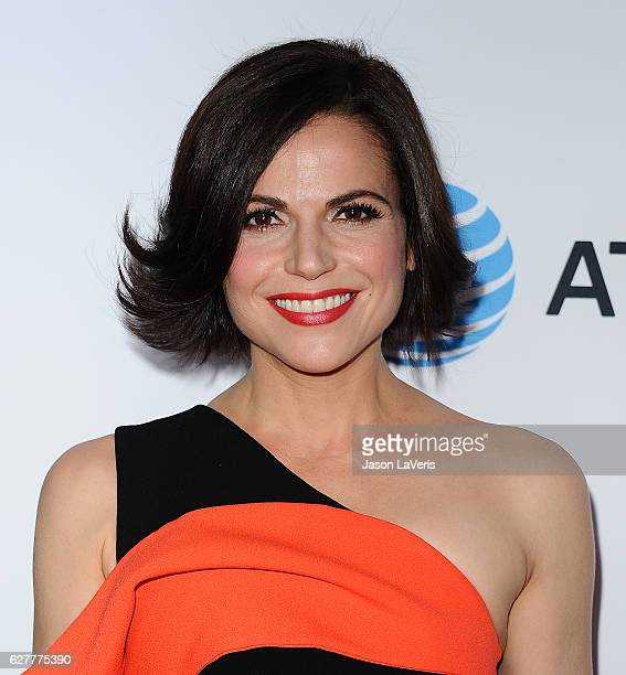 Actress Lana Parrilla attends the TrevorLIVE Los Angeles 2016 fundraiser at The Beverly Hilton Hotel on December 4 2016 in Beverly Hills California