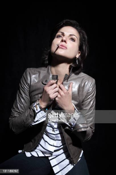 Actress Lana Parrilla is photographer for Self Assignment on October 15 2011 in Los Angeles California