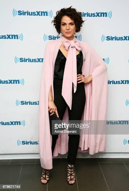 Actress Lana Parrilla visits the SiriusXM Studios on May 4 2017 in New York City