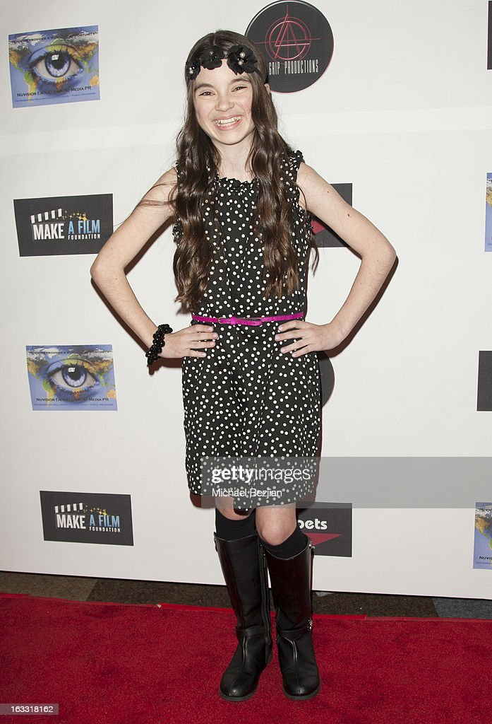 Actress Landry Bender attends Make A Film Foundation's 'Kidz 4 Kidz' Comedy 4 A Cau$e Benefit Show at Writers Guild Theater on March 7, 2013 in Beverly Hills, California.