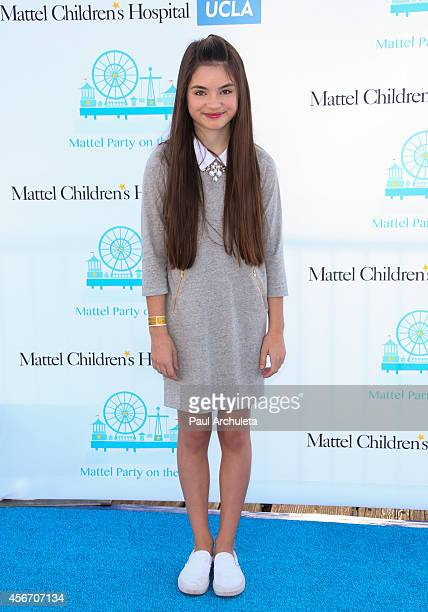Actress Landry Bender attends Mattel's 5th annual Party On The Pier at Santa Monica Pier on October 5 2014 in Santa Monica California