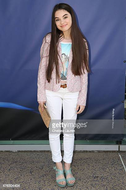 Actress Landry Bender attends the opening night of 'Matilda the Musical' at Ahmanson Theatre on June 7 2015 in Los Angeles California