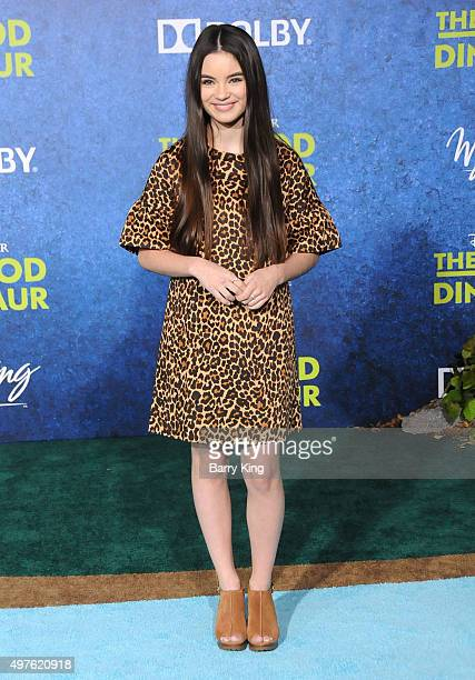 Actress Landry Bender attends the Premiere of DisneyPixar's 'The Good Dinosaur' at the El Capitan Theatre on November 17 2015 in Hollywood California