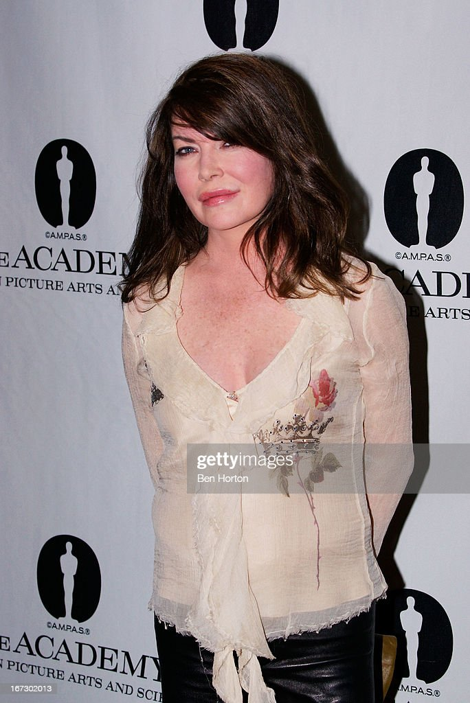 Actress Lara Flynn Boyle attends the Academy Of Motion Picture Arts And Sciences Hosts A 'Wayne's World' Reunion at AMPAS Samuel Goldwyn Theater on April 23, 2013 in Beverly Hills, California.