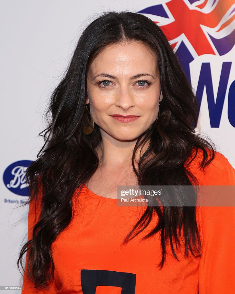 Actress Lara Pulver attends the 7th annual BritWeek Festival 'A Salute To Old Hollywood' launch party at the British Consul General's Residence on April 23, 2013 in Los Angeles, California.