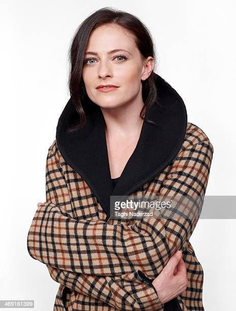 Actress Lara Pulver is photographed for Red Magazine UK on July 19 2013 in London England