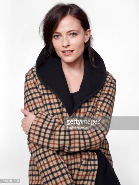 Actress Lara Pulver is photographed for Red Magazine UK on July 19 2013 in London England PUBLISHED IMAGE