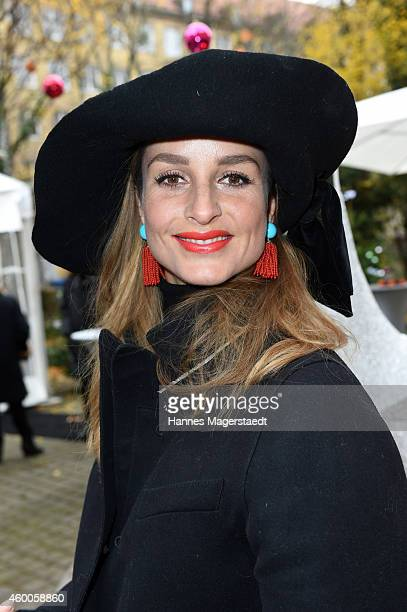 Actress LaraJoy Koerner attends the 19th BMW Advent Charity Concert at St Michael church on December 6 2014 in Munich Germany