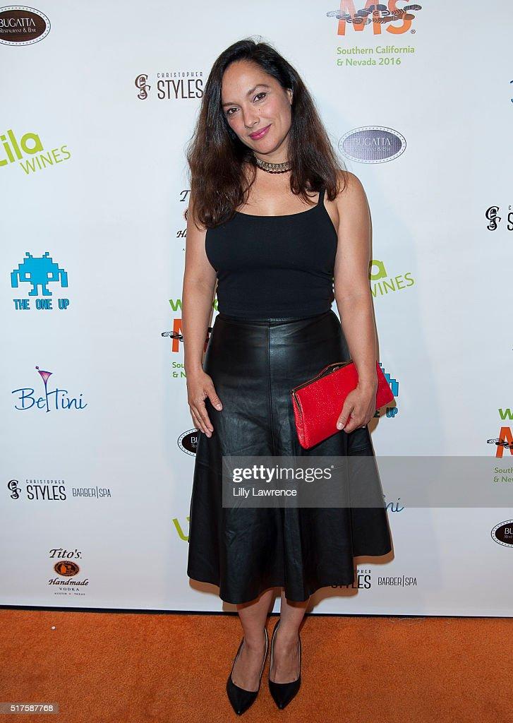 Actress Larissa Gomes attends 3rd Annual LA's Walk MS Celebrity Kickoff Event at Bugatta Supper Club on March 25, 2016 in Los Angeles, California.
