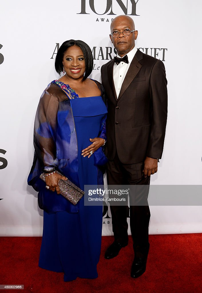 Actress <a gi-track='captionPersonalityLinkClicked' href=/galleries/search?phrase=LaTanya+Richardson&family=editorial&specificpeople=234411 ng-click='$event.stopPropagation()'>LaTanya Richardson</a> Jackson and actor <a gi-track='captionPersonalityLinkClicked' href=/galleries/search?phrase=Samuel+L.+Jackson&family=editorial&specificpeople=167234 ng-click='$event.stopPropagation()'>Samuel L. Jackson</a> attends the 68th Annual Tony Awards at Radio City Music Hall on June 8, 2014 in New York City.