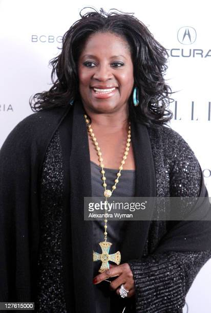 Actress LaTanya Richardson Jackson poses in the ELLE green room during the 2011 Film Independent Spirit Awards at Santa Monica Beach on February 26...