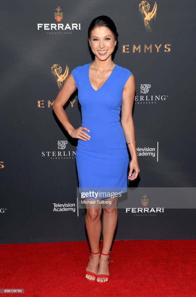 Actress Laur Allen attends the Television Academy's cocktail reception with stars of daytime television celebrating the 69th Emmy Awards at Saban Media Center on August 23, 2017 in North Hollywood, California.