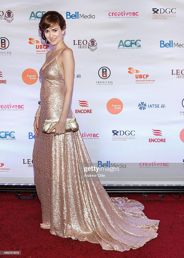 Actress Laura Adkin attends the 2014 Leo Awards - Gala Awards Ceremony at Fairmont Hotel Vancouver on June 1, 2014 in Vancouver, Canada.