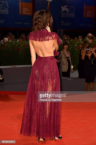 Actress Laura Adriani attends the premiere of 'Questi Giorni' during the 73rd Venice Film Festival at Sala Grande on September 8 2016 in Venice Italy