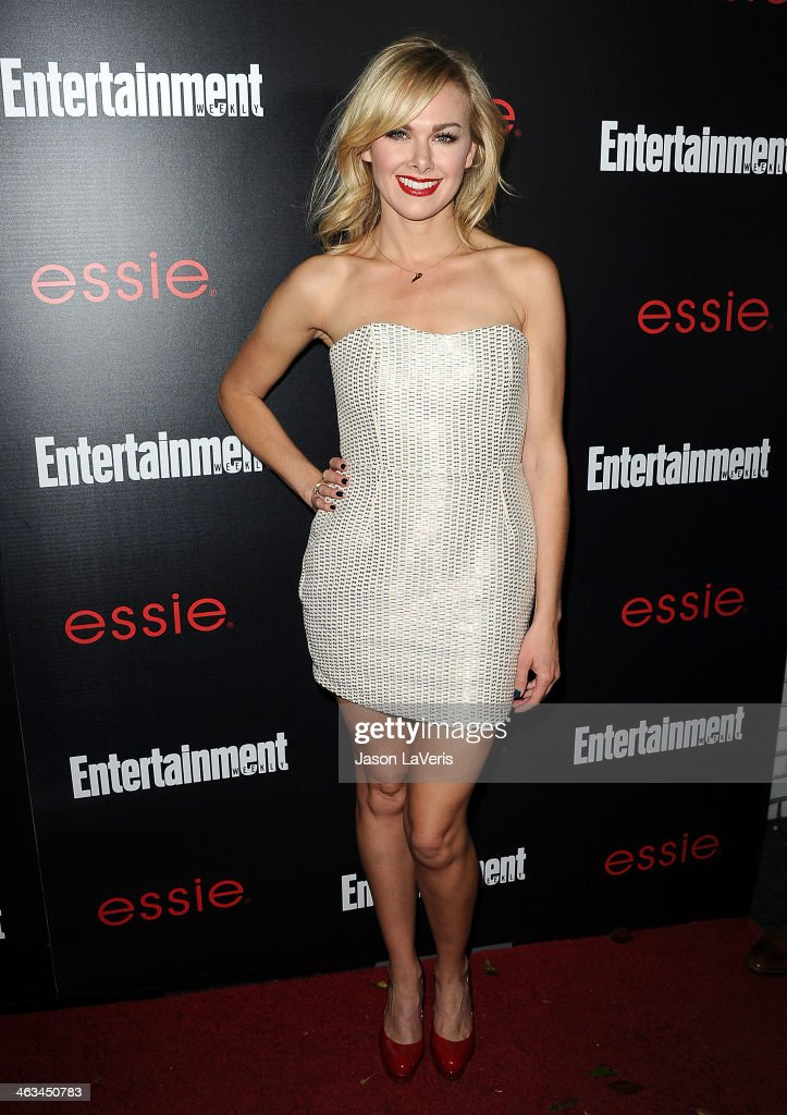 Actress Laura Bell Bundy attends the Entertainment Weekly SAG Awards pre-party at Chateau Marmont on January 17, 2014 in Los Angeles, California.