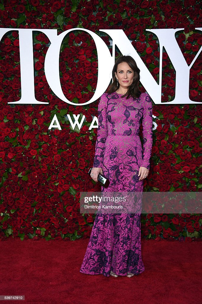 Actress Laura Benanti attends the 70th Annual Tony Awards at The Beacon Theatre on June 12, 2016 in New York City.