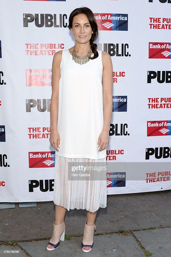 Actress Laura Benanti attends The Public Theater's Annual Gala at Delacorte Theater on June 9, 2015 in New York City.