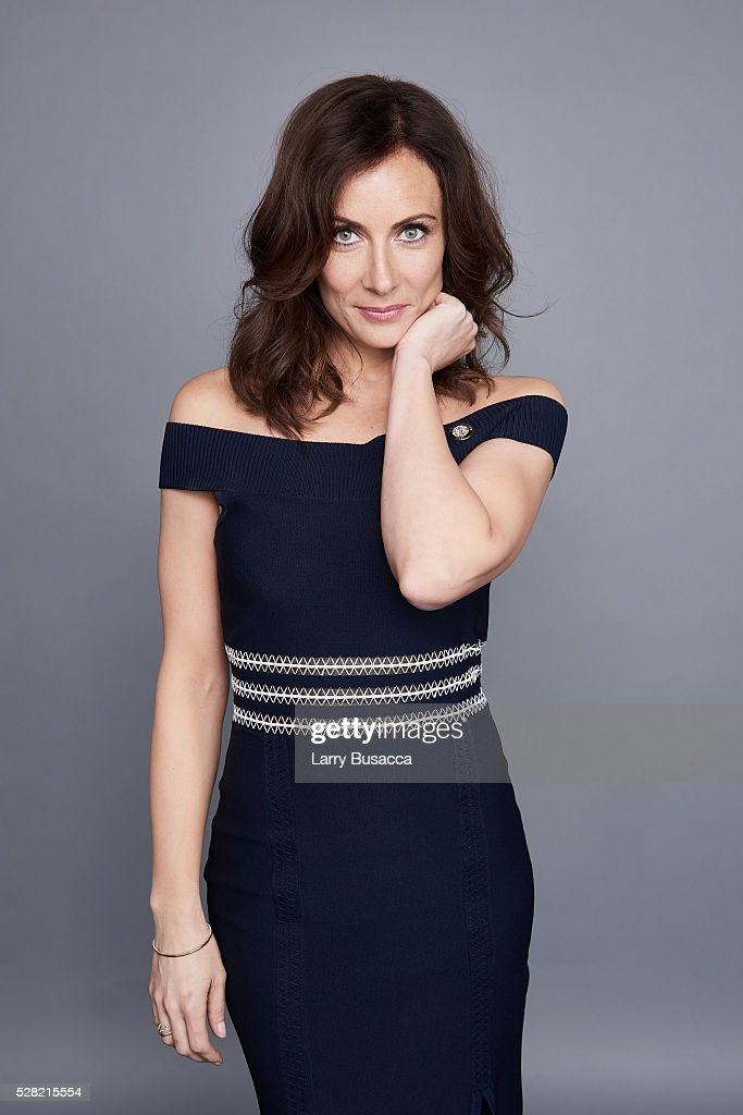 Actress <a gi-track='captionPersonalityLinkClicked' href=/galleries/search?phrase=Laura+Benanti&family=editorial&specificpeople=657897 ng-click='$event.stopPropagation()'>Laura Benanti</a> poses for a portrait at the 2016 Tony Awards Meet The Nominees Press Reception on May 4, 2016 in New York City.